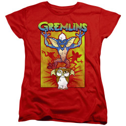 Image for Gremlins Womans T-Shirt - Be Afraid