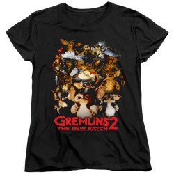 Image for Gremlins Womans T-Shirt - Gremlins 2 Goon Crew