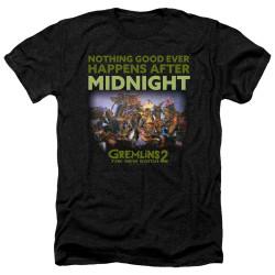 Image for Gremlins Heather T-Shirt - Gremlins 2 After Midnight