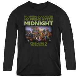 Image for Gremlins Women's Long Sleeve T-Shirt - Gremlins 2 After Midnight