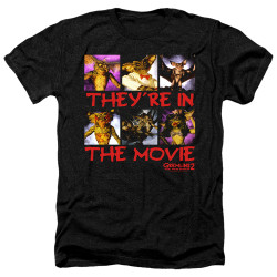 Image for Gremlins Heather T-Shirt - Gremlins 2 In the Movie