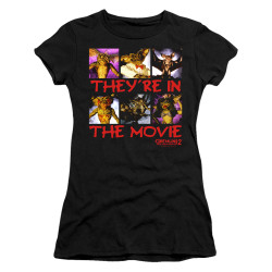 Image for Gremlins Girls T-Shirt - Gremlins 2 In the Movie