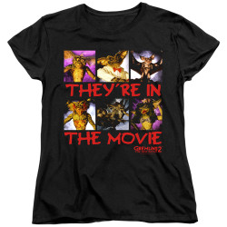 Image for Gremlins Womans T-Shirt - Gremlins 2 In the Movie