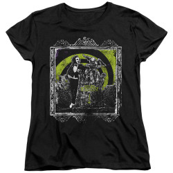 Image for Beetlejuice Womans T-Shirt - Here Lies