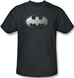 Image Closeup for Batman T-Shirt - Duct Tape Logo
