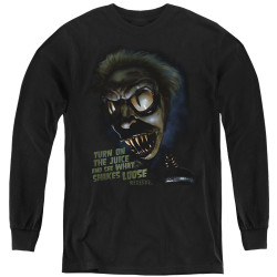 Image for Beetlejuice Youth Long Sleeve T-Shirt - Chuck's Daughter