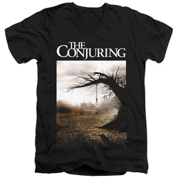 Image for The Conjuring V Neck T-Shirt - Poster