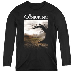 Image for The Conjuring Women's Long Sleeve T-Shirt - Poster