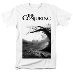 Image for The Conjuring T-Shirt - Monotone Poster