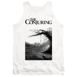 Image for The Conjuring Tank Top - Monotone Poster