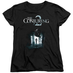 Image for The Conjuring Womans T-Shirt - Conjuring 2 Poster