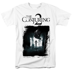 Image for The Conjuring T-Shirt - Conjuring 2 Montone Poster