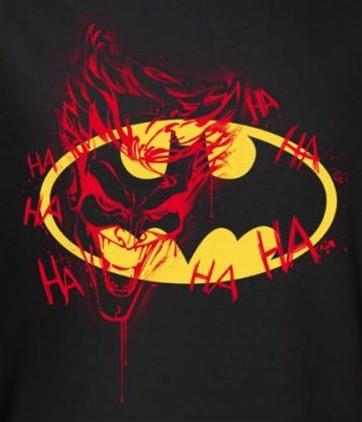 cee1e843b Batman T-Shirt - Joker Graffiti Logo. Loading zoom