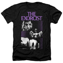 Image for The Exorcist Heather T-Shirt - What an Excellent Day