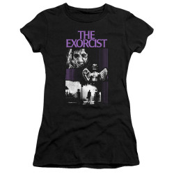 Image for The Exorcist Juniors Premium Bella T-Shirt - What an Excellent Day