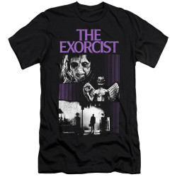 Image for The Exorcist Premium Canvas Premium Shirt - What an Excellent Day