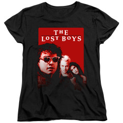 Image for The Lost Boys Womans T-Shirt - Michael David Star