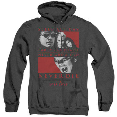 Image for The Lost Boys Heather Hoodie - Never Die