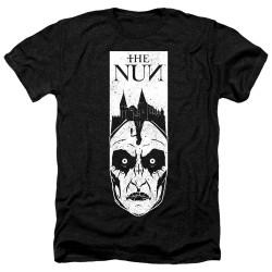 Image for The Nun Heather T-Shirt - Gaze