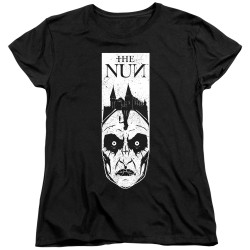 Image for The Nun Womans T-Shirt - Gaze