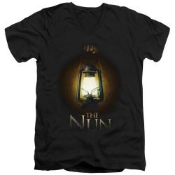 Image for The Nun V Neck T-Shirt - Lantern