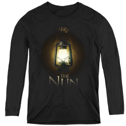 Image for The Nun Women's Long Sleeve T-Shirt - Lantern