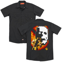 Image for Mortal Kombat Klassic Dickies Work Shirt - Scorpion