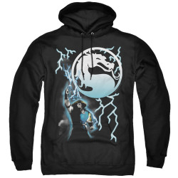 Image for Mortal Kombat Klassic Hoodie - Raiden