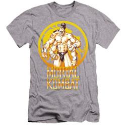 Image for Mortal Kombat Klassic Premium Canvas Premium Shirt - Goro