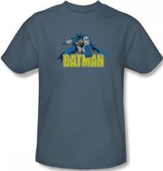 Image Closeup for Batman T-Shirt - Retro Distressed