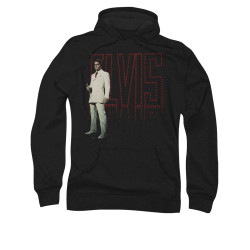 Image for Elvis Hoodie - White Suit