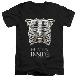 Image for Supernatural V Neck T-Shirt - Hunter Inside