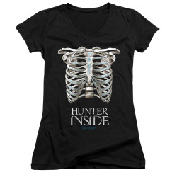 Image for Supernatural Girls V Neck - Hunter Inside