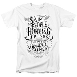 Image for Supernatural T-Shirt - Family Business