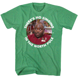Image for Elf T-Shirt - No Singing in the North Pole