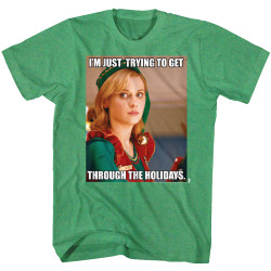 Image for Elf T-Shirt - Get Through the Holidays