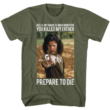 Image for The Princess Bride T-Shirt - Hello. My Name is Inigo Montoya