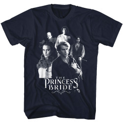 Image for The Princess Bride T-Shirt - Black and White Group