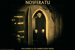 Image for Nosferatu Max Shreck as Vampire Count Orlock Poster