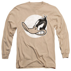Image for Looney Tunes Long Sleeve T-Shirt - Daffy Duck Vintage Badge
