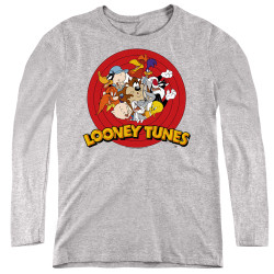 Image for Looney Tunes Women's Long Sleeve T-Shirt - Group Logo