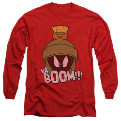 Image for Looney Tunes Long Sleeve T-Shirt - Marvin the Martain Ka-Boom
