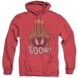 Image for Looney Tunes Heather Hoodie - Marvin the Martain Ka-Boom