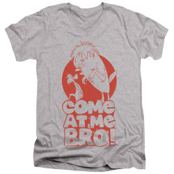 Image for Looney Tunes T-Shirt - V Neck - Sylvester Come at Me Bro
