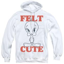 Image for Looney Tunes Hoodie - Tweetie Pie Felt Cute