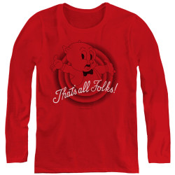 Image for Looney Tunes Women's Long Sleeve T-Shirt - That's All Folks