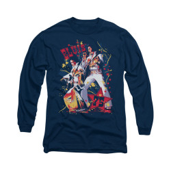Image for Elvis Long Sleeve T-Shirt - Eagle Elvis