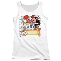 Image for Looney Tunes Girls Tank Top - Bugs and His Friends