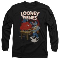 Image for Looney Tunes Long Sleeve T-Shirt - Tasmanian Devil DJ Looney