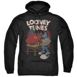 Image for Looney Tunes Hoodie - Tasmanian Devil DJ Looney